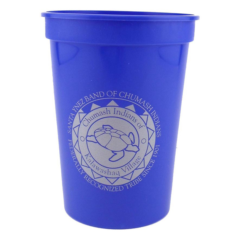 12 Oz. Smooth Stadium Cups - The 500 Line