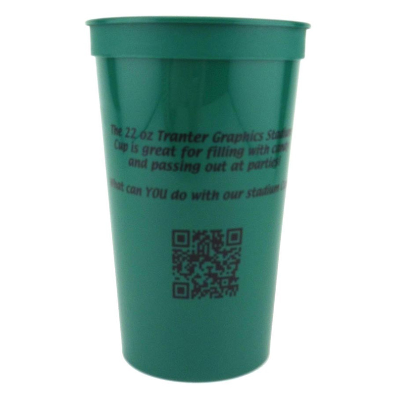 22 Oz. Smooth - Stadium Cups - The 500 Line