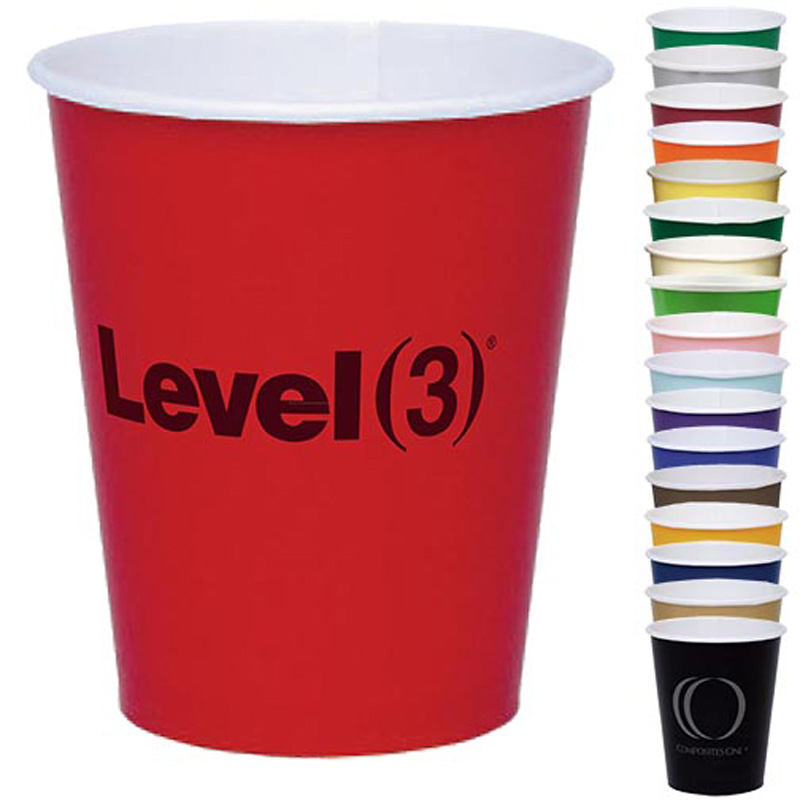 Colorware 9 Oz. Paper Cup - The 500 Line