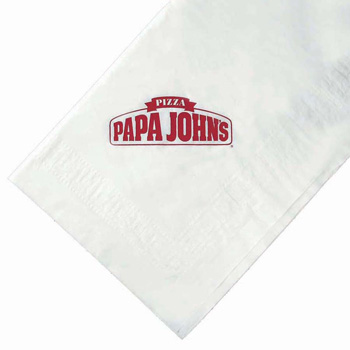 "Poly Plastic Backing Paper Table Cloths -The 500 Line (54""x54"")"