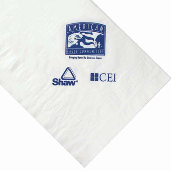 "54""x108"" Poly Plastic Backing Paper Tablecloth -The 500 Line"
