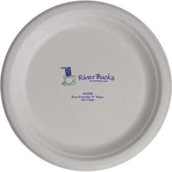 "9"" Eco-Friendly Plates - The 500 Line"