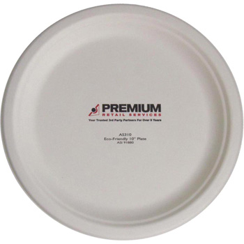 "10"" Eco-Friendly Plates - The 500 Line"