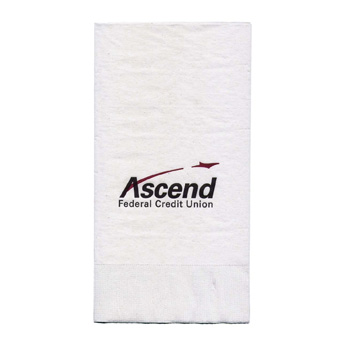 "4""x8"" White 3-Ply Dinner Napkins - The 500 Line"