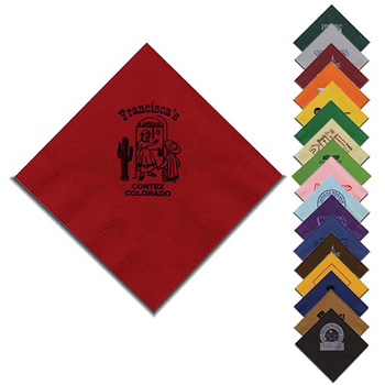 "5""x5"" Colored 2-Ply Beverage Napkins - The 500 Line"