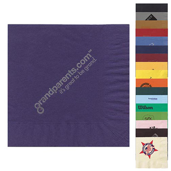 "6.5""x6.5"" 2-Ply Luncheon Napkins - The 500 Line"