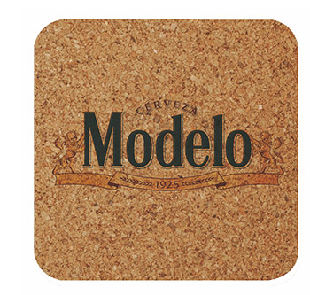 "4"" Square - Digital Cork Coaster - The 500 Line"