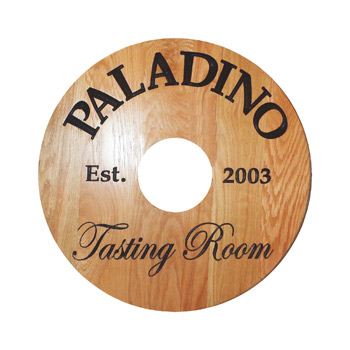 "Digital 40 Pt. 2.75"" Wine Tag - White High Density Coasters - The 500 Line"