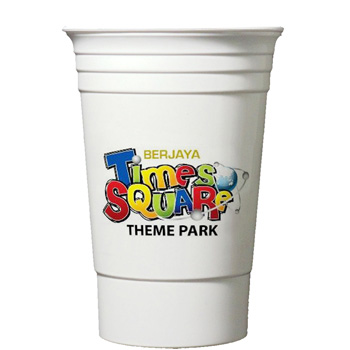 Digital 16 Oz. Double Wall Party Cup