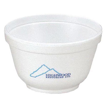 6 Oz. Foam Bowl - The 500 Line