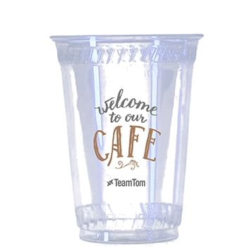 10 Oz. Eco-Friendly Clear Cups - High Lines