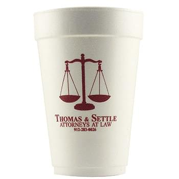 12 Oz. Foam Cups - High Lines