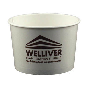 16 Oz. Paper Food Container - The 500 Line