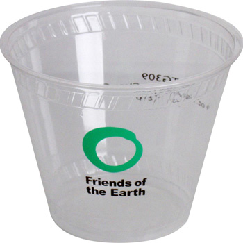 9 Oz. Eco-Friendly Clear Cups - The 500 Line