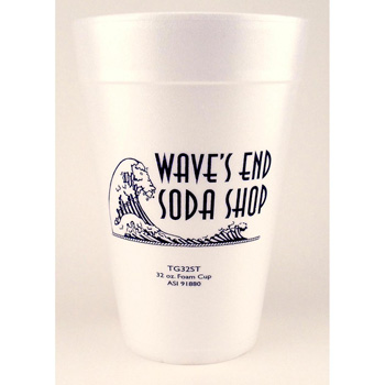 32 Oz. Foam Cups - The 500 Line