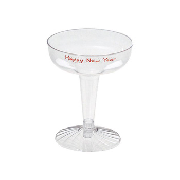4 Oz. 2-Piece Champagne Glass - Specialty Cups - The 500 Line