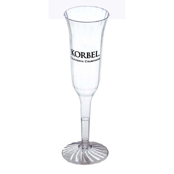 5 Oz. 2-Piece Tulip Champagne Glass - Clear & Classic Crystal® Cups