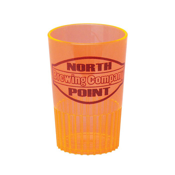 1.5 Oz. Orange Sampler/ Shot Glass - Mini-Brites - The 500 Line