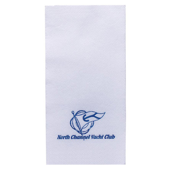 "4.25""x8.5"" White Lasting Impression Hand Towel - The 500 Line"