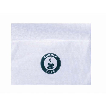 Bleached Single Ply 3/4 Fold Dispenser Napkin (500 Line)